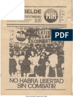 El Rebelde 244 Octubre 1987