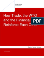 How Trade, The WTO and the Financial Crisis Reinforce Each
