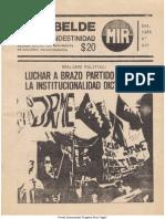 El Rebelde 247 Enero 1988