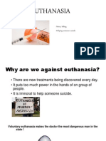 euthanasia power point
