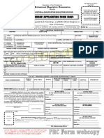 Nurses' Application Form