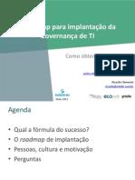 RJ Palestra Roadmap-Governanca
