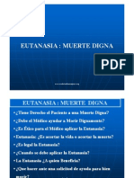 Eutanasia - Muerte Digna - Medicina Forense