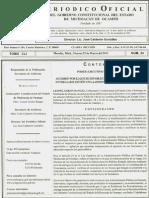 Acuerdo Entrega Recepcion Periodico Oficial