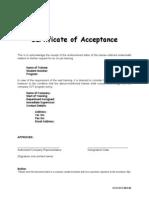 CCS OJT 003 01 (Acceptance Form)