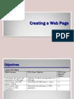 Primer Examen Mod $ 98-363 01 Creating a Web Page