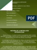 Historia de La Metrologia