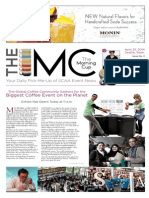 The Specialty Coffee Association of America's (SCAA) Event Newspaper, The Morning Cup - Issue No. 2, 2014
