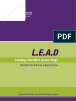 lead-leading education about drugs