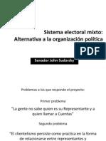 Sistema Electoral Mix To