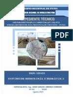 Estudio Hidrologico Hidraulico y Obras de Arte - Carretera Juli-sorapa
