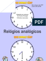 Mat Relogio Analogico1