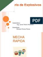 MECHA RAPIDA(Richard Torres Flores)