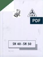 TOS SN40 SN50