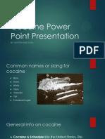 cocaine power point presentation
