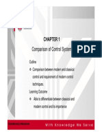 Chapter1 Comparison of Control System