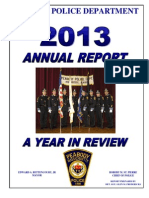 Peabody Police 2013 Annual Report