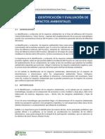 7. CAPITULO IV Identificacion de Impactos Ambientales