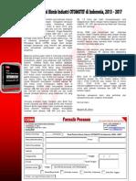 Studi Potensi Bisnis Industri OTOMOTIF di Indonesia, 2013 – 2017