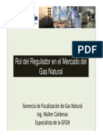Rol Regulador en El Mercado Del Gas Natural
