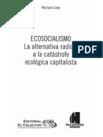 Löwy - Ecosocialismo