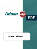 HowTo - Add Users 2013