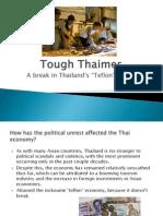 tough thaimes ppt