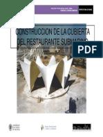 La Construccion de La Cubierta Del Restaurante Submarino