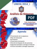 Análisis de Sistemas Case I