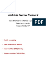 Lecture 2 Workshop manual