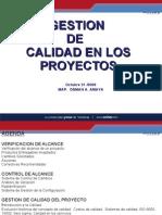 MAP OSMAN A. AMAYA LOPEZ PRESENTACION GESTION DE CALIDAD EN LOS PROYECTOS