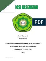 Benny Tresnanda (P07134013027) - Promosi Kesehatan