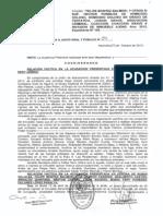 Auto 59 - 9-Oct-13 Elvación a Juicio Oral