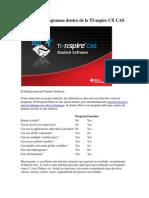 Funciones o Programas Dentro de La TI