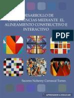 Desarrollo Competencias Mediante Alineamiento Constructivo Interactivo-1
