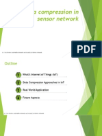 Data Compression in Sensor Network