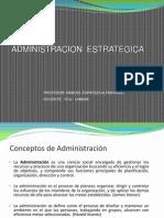 ADMINISTRACION  ESTRATEGICA 2013