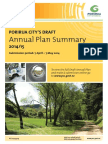 Porirua City Draft Annual Plan 2014-15 - Summary