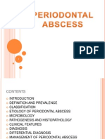 Periodontal Abcess