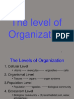 Level of Organization