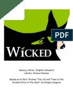 Wicked Libreto