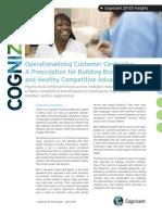 Operationalizing Customer Centricity