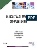 5 La Industria de Servicios Globales en Chile Jose Pedro Undurraga