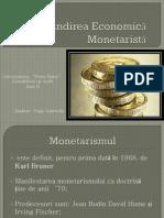 Gandirea Economica Monetarista Power Point