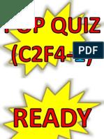 POP QUIZ C2F4-1