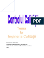 Controlul Calitatii