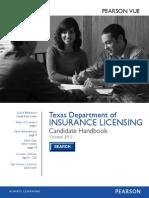 TDI-2013 Insurance Licensing Handbook