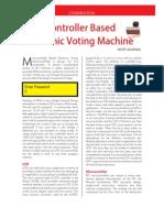 Voting Machine (Con)