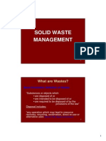 6 Solid Waste Management