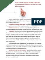 Tratamente Naturiste Pentru Degete Amortite